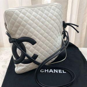 "🆕 Chanel CC Large""Cambon Line""Crossbody Bag"